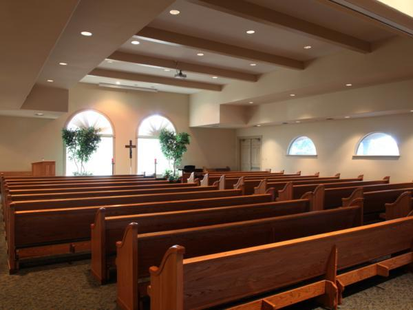 Corpus Christi Funeral Home Interior