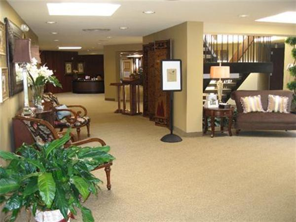 Byron Keenan Funeral Home  Cremation Tribute Center Interior