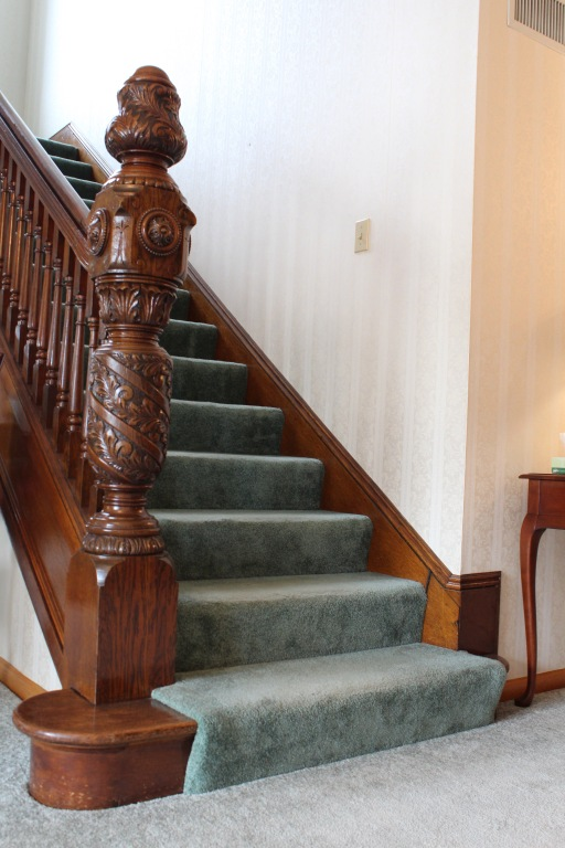 19th Century Stair Banister