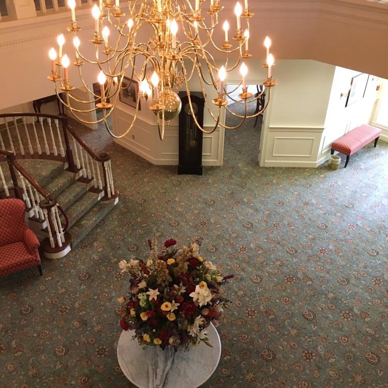 Lobby from balcony