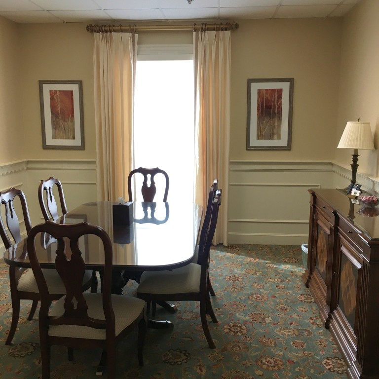 Arrangement Room 1