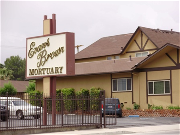 Evans-Brown Mortuary - Perris Location Exterior