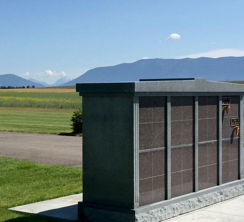 Glacier Memorial Gardens Mausoleum
