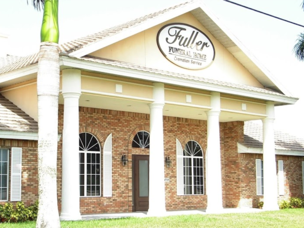 Fuller Funeral Home - East Naples Location Exterior