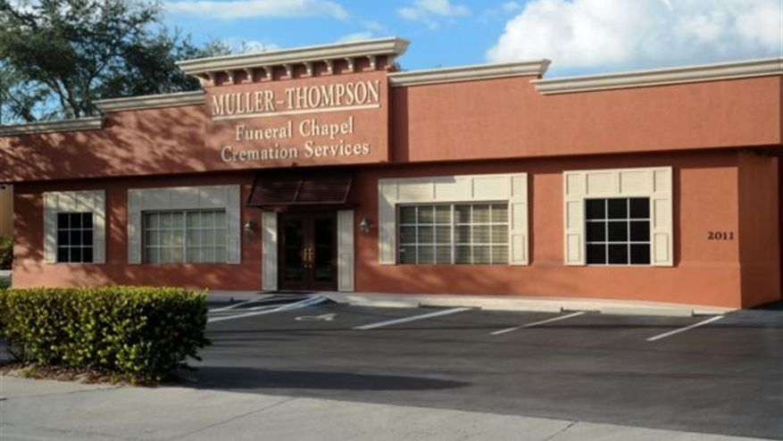 Muller-Thompson Funeral Chapel and Cremation Services Exterior