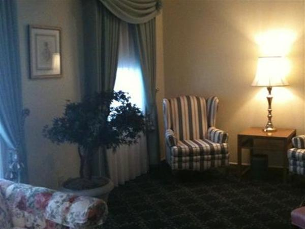 White's Funeral Home Interior