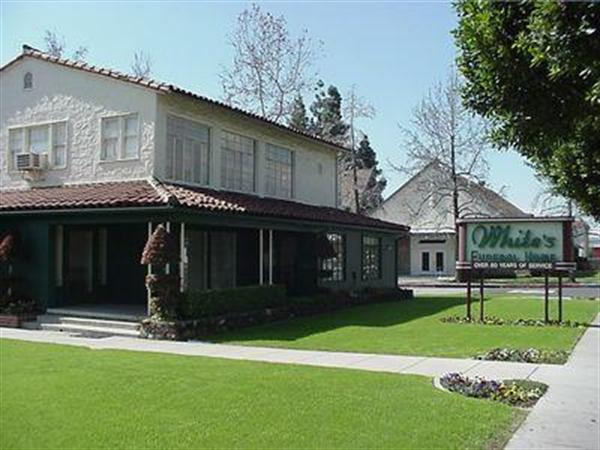 White's Funeral Home Exterior