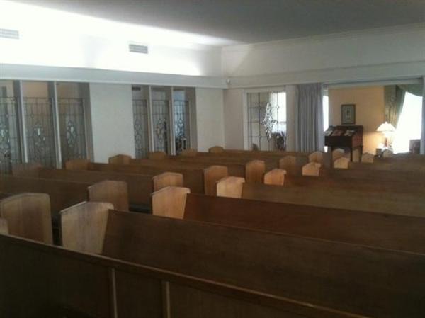 White's Funeral Home Interior