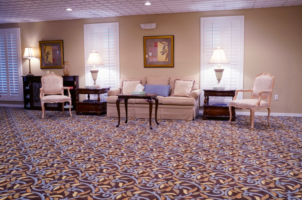 Stanfill Funeral Home Interior