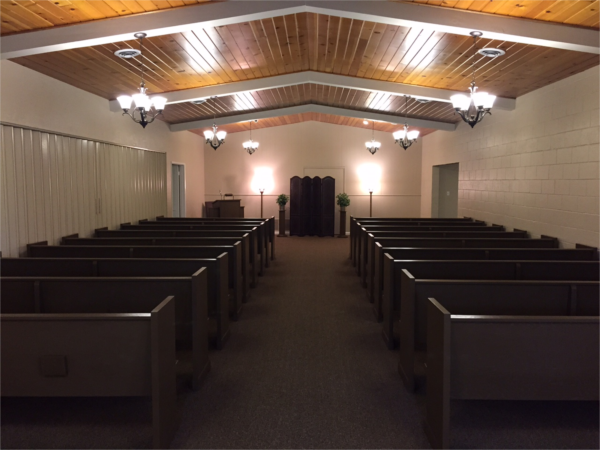 Franklin  Downs Funeral Home Ceres Chapel Interior