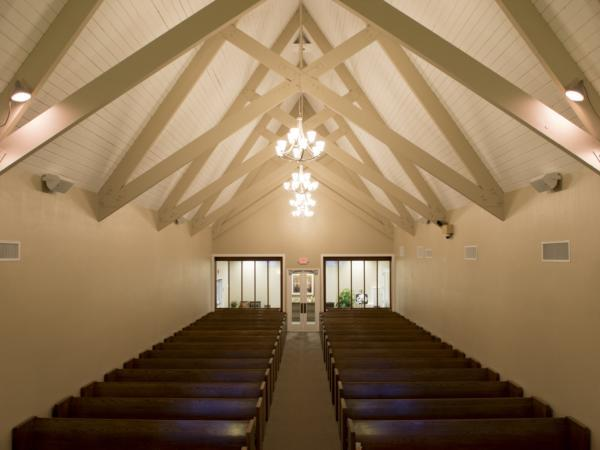Franklin  Downs Funeral Home McHenry Chapel Interior