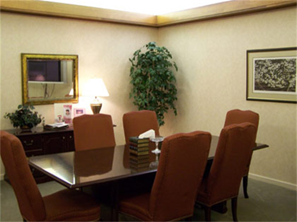 Cumby Family Funeral Service - High Point Location Interior