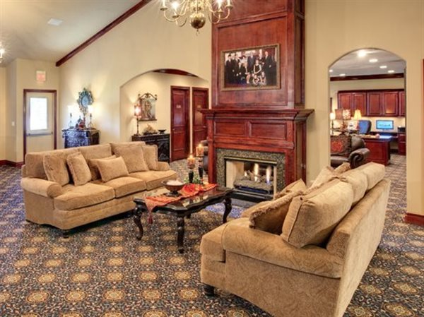 Havenbrook Funeral Home Interior