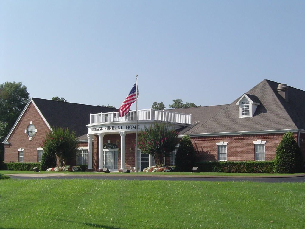 Heritage Funeral Home and Cremation Services Exterior