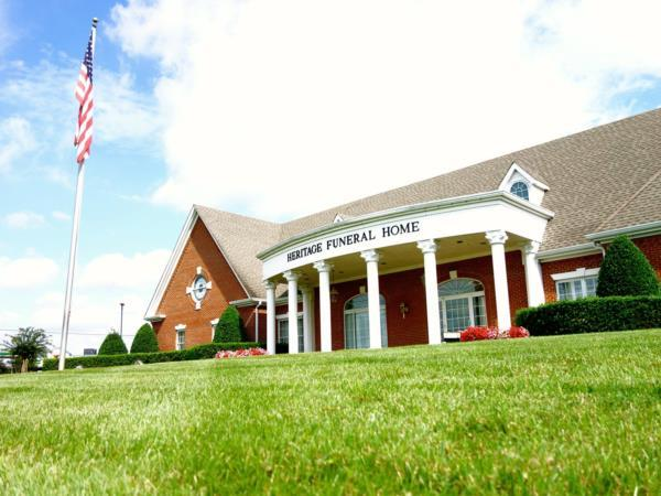 Heritage Funeral Home and Crematory Exterior