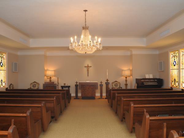 Jacob Schoen  Son Funeral Directors Interior