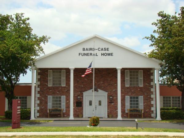 Baird-Case Funeral Home  Cremation Service Exterior
