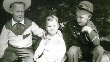 Cowboy Herbie, Friend Raul, Civil War Soldier Freddie
