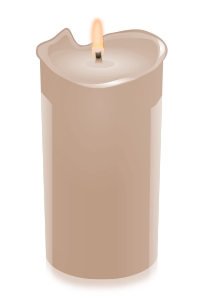 candle beige