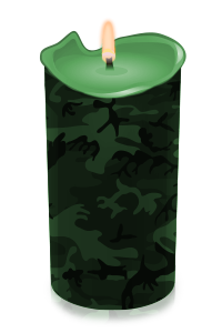 candle green camo