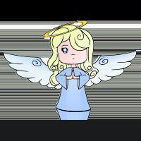 gesture angel