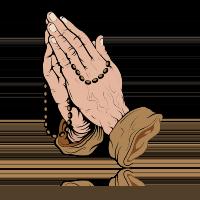 gesture rosary