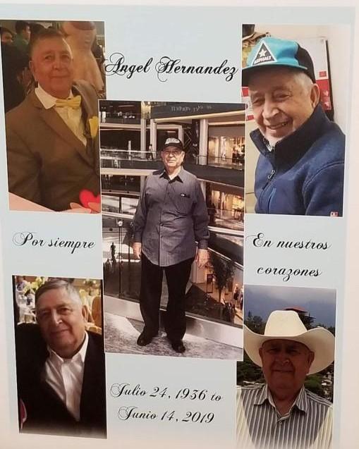 Tribute for Angel Hernandez | Dieterle Memorial Home