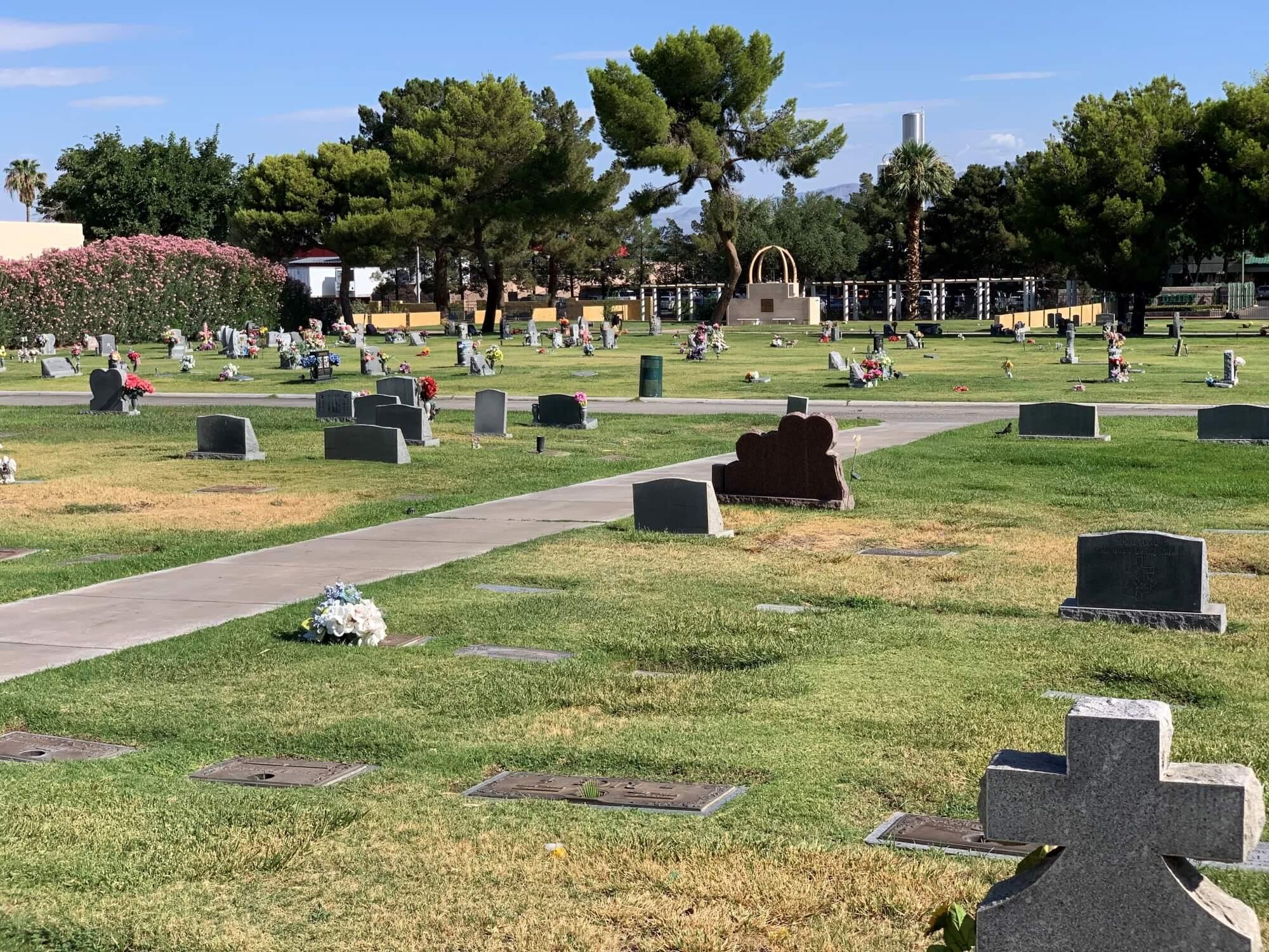 Memory Gardens Memorial Park cemetery las vegas nv