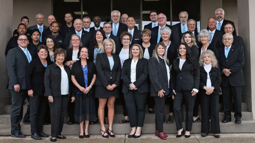 funeral home and cemetery staff in Oklahoma city