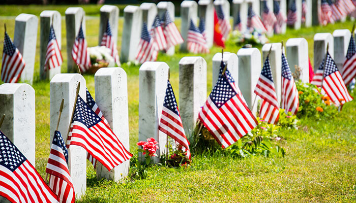 veteran funeral services in Houston, TX
