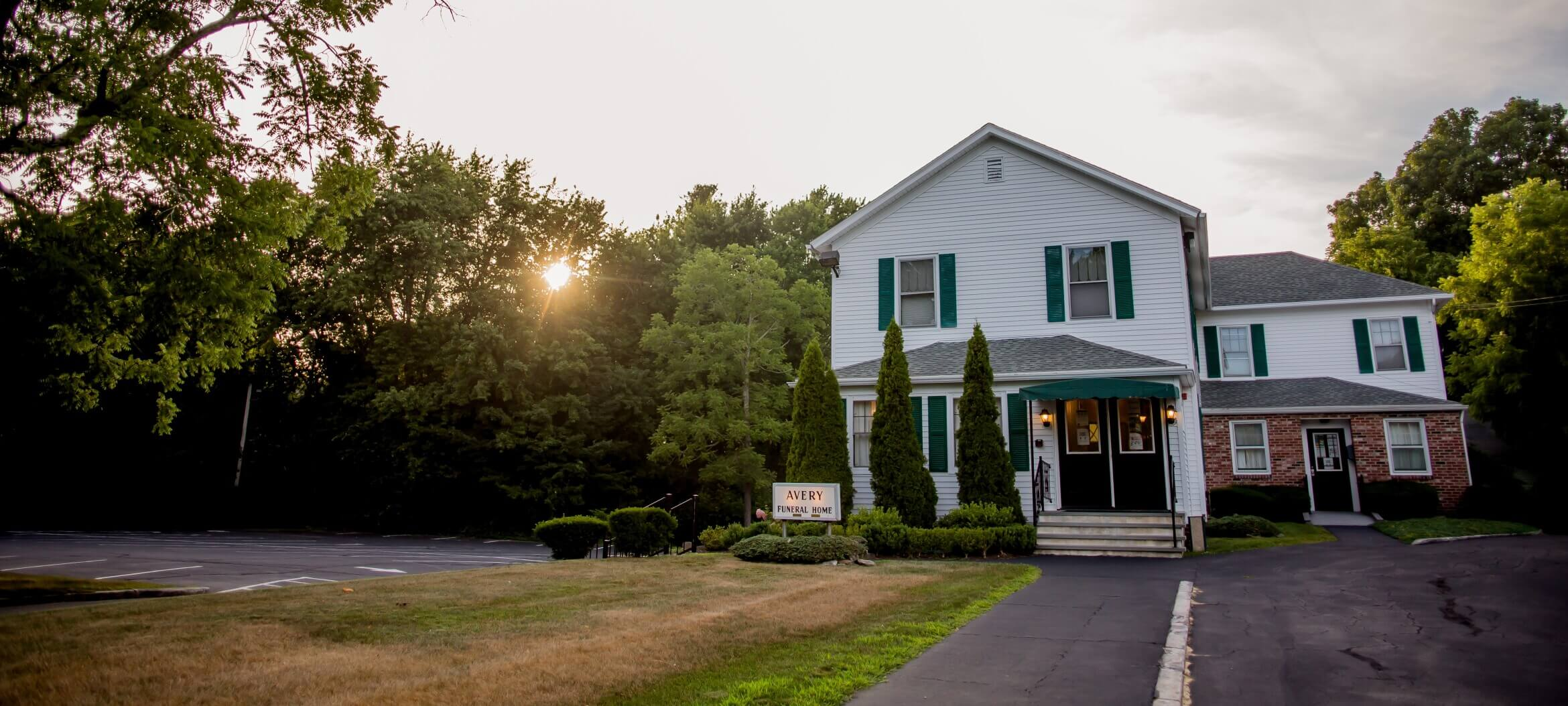 S.R. Avery Funeral Home in Hope Valley, RI