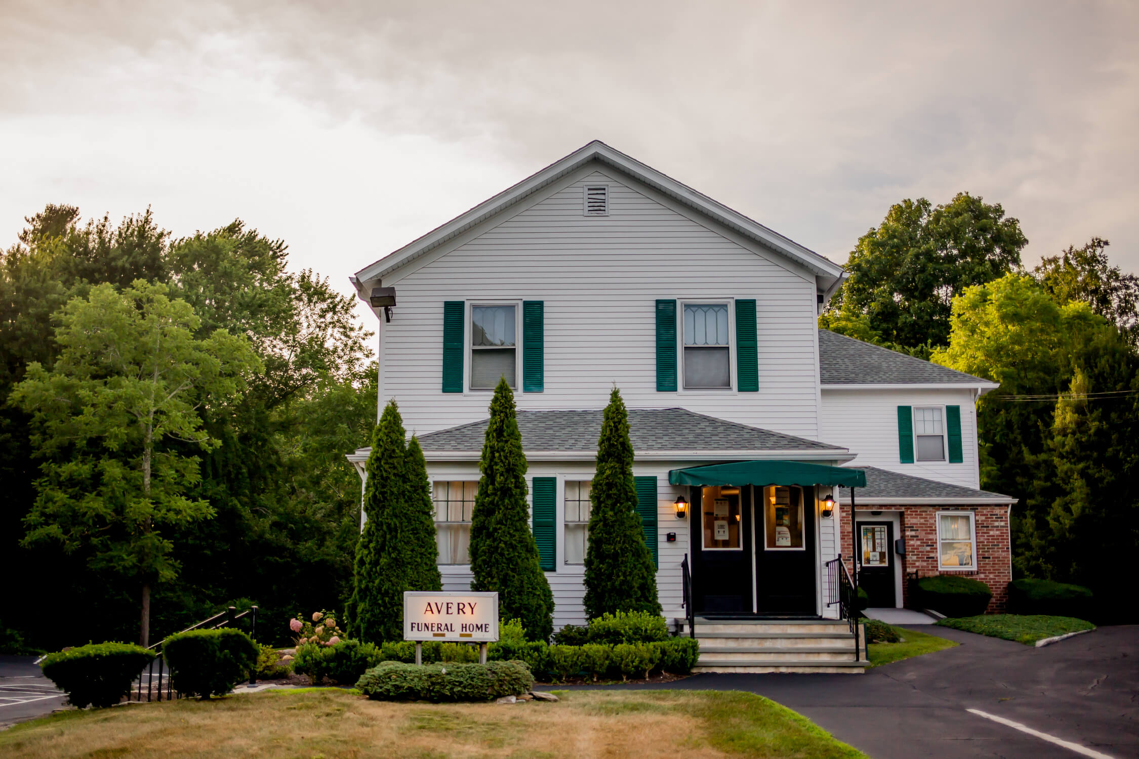 tour our funeral home in Hope Valley, RI