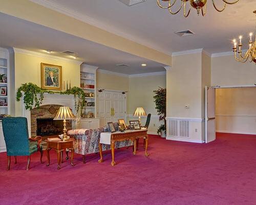 bright funeral home interior 2