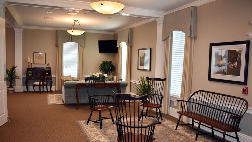 tour our funeral home in Downingtown and Coatesville PA