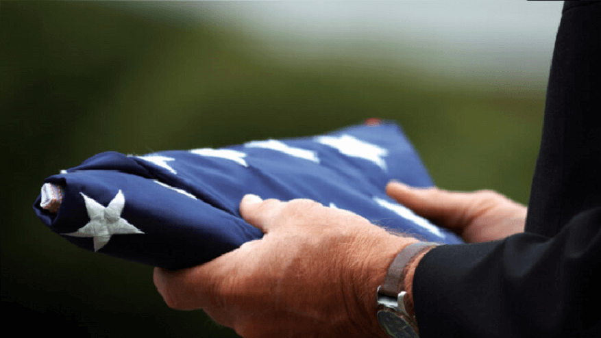 veteran burial flags