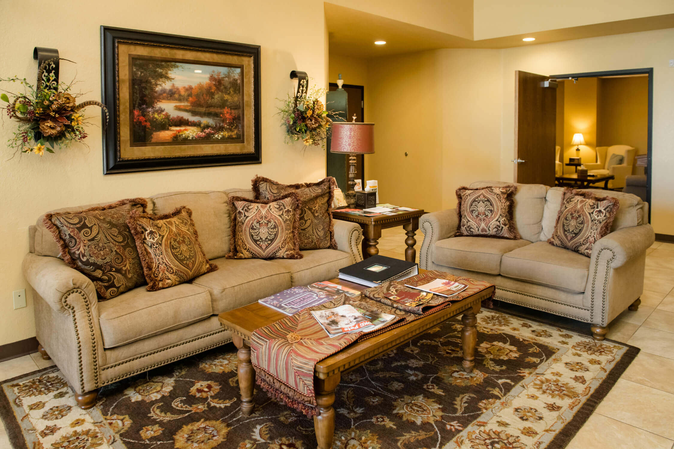 tour our funeral home in Moore, OK