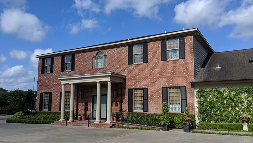 tour our funeral home in Houston, TX
