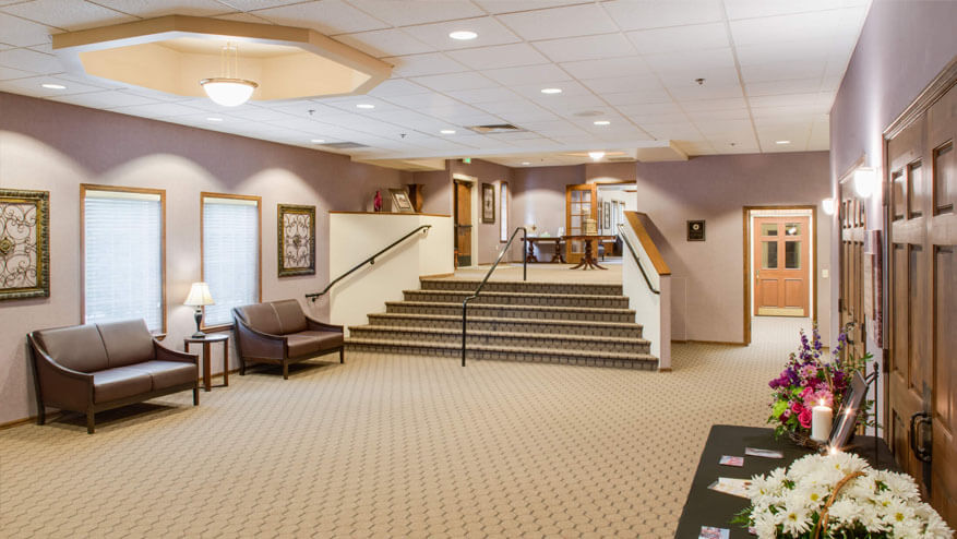 tour our funeral home in Nampa, ID