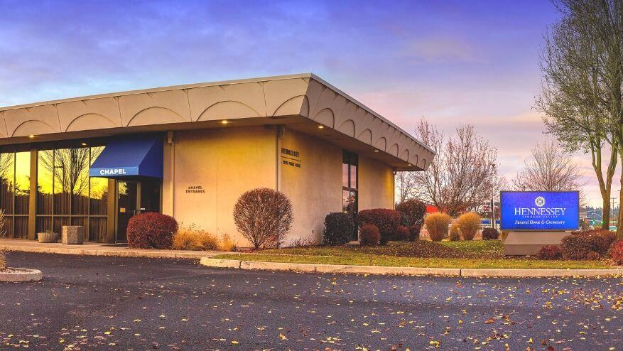 tour our funeral home in Spokane Valley, WA