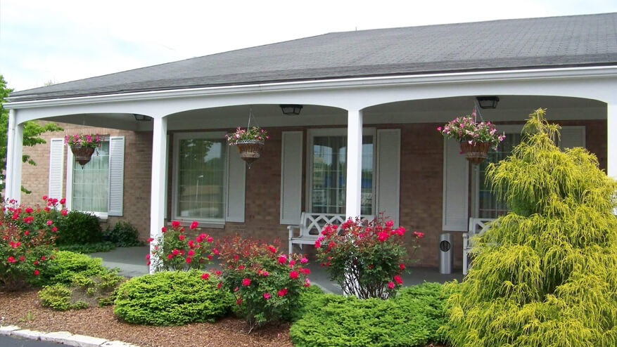 tour our funeral home in Zanesville, OH