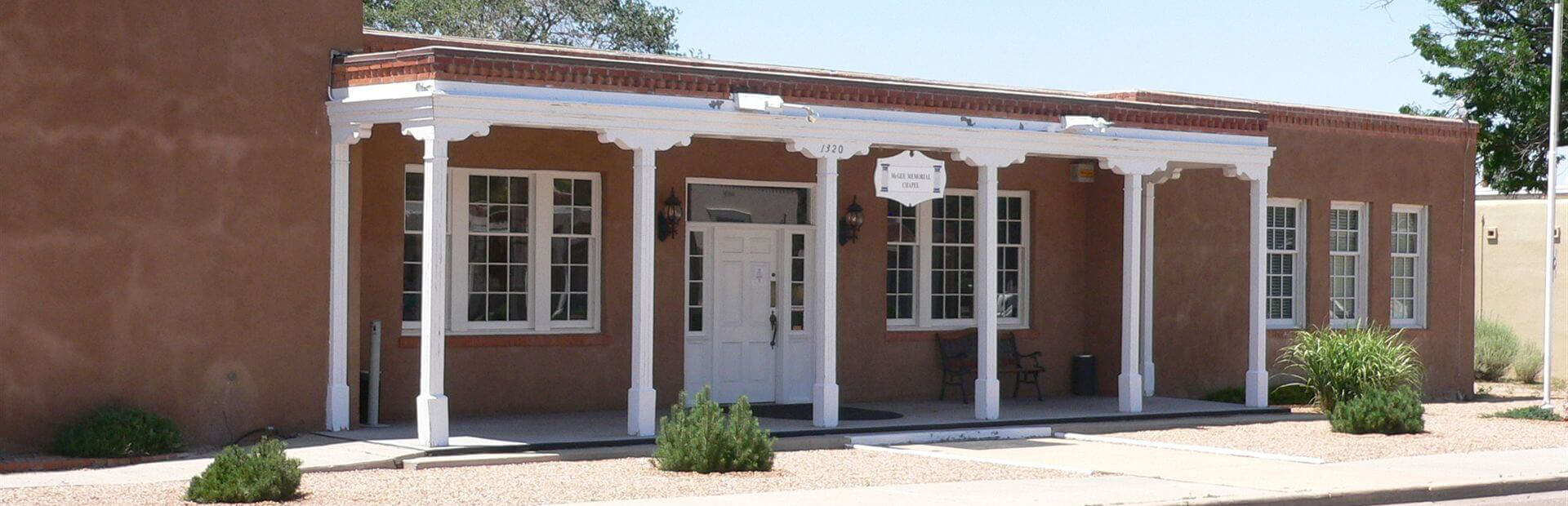 McGee Memorial Chapel Mortuary in Santa Fe, NM
