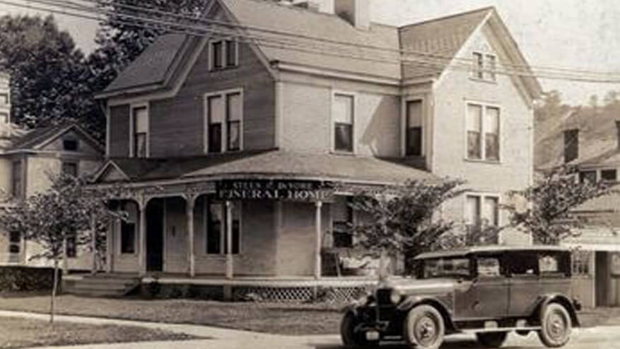 our funeral home history