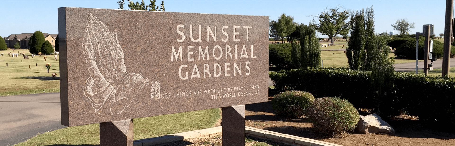 Sunset Memorial Gardens in Lawton, OK
