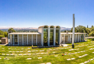tour our cemetery and funeral home in Lafayette, CA