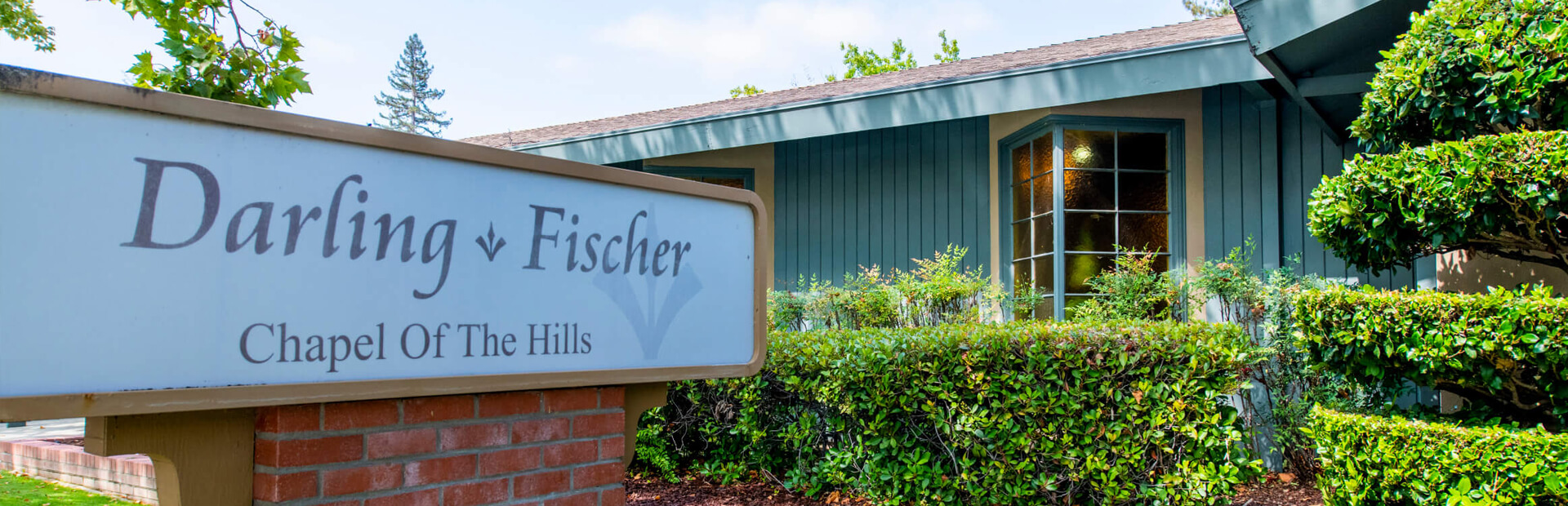 Darling & Fischer Chapel of the Hills in Los Gatos, CA