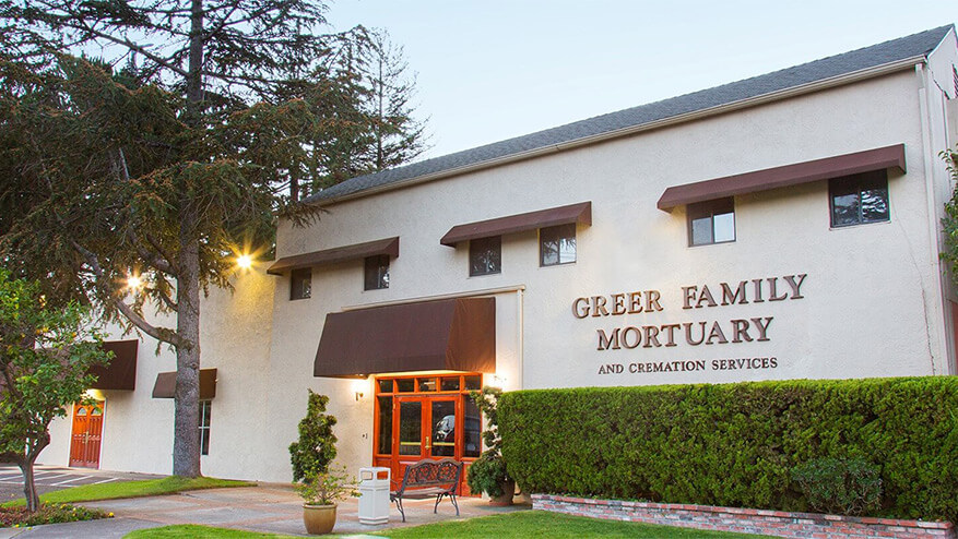 tour our funeral home in Alameda, CA