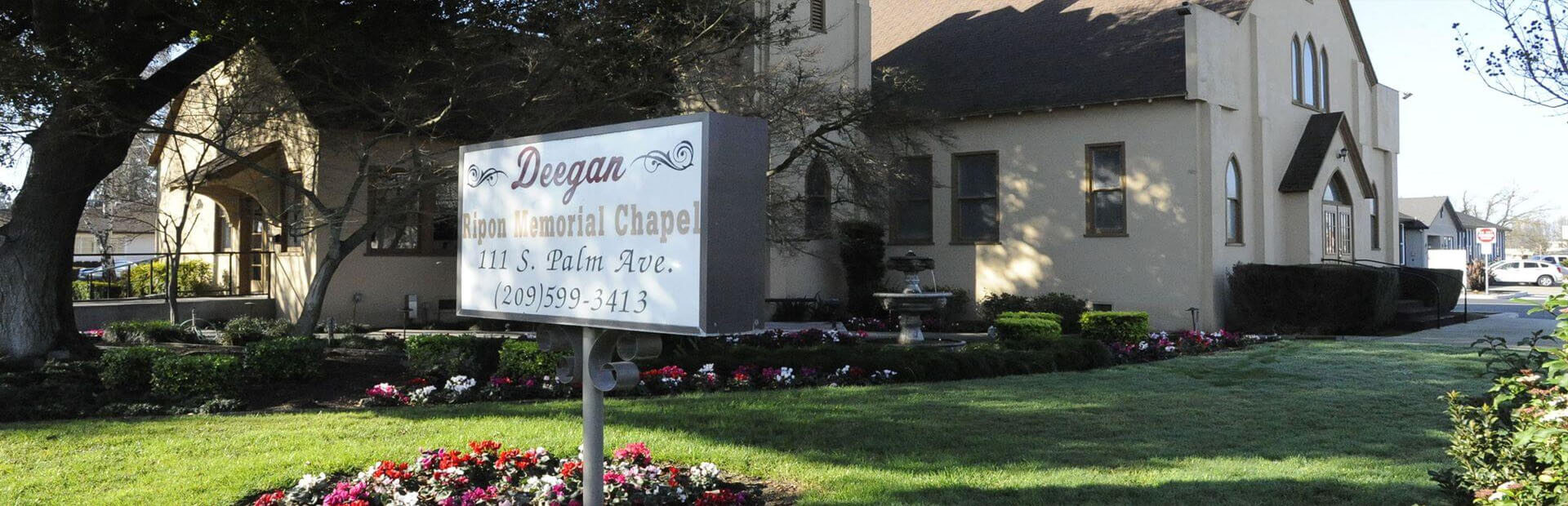 Deegan Funeral Chapel in Escalon & Ripon, CA
