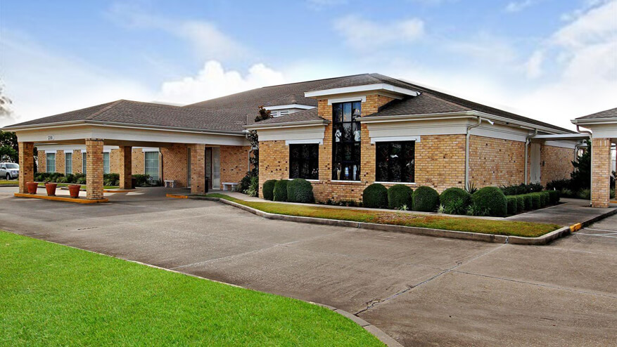 tour our funeral home in New Orleans, LA