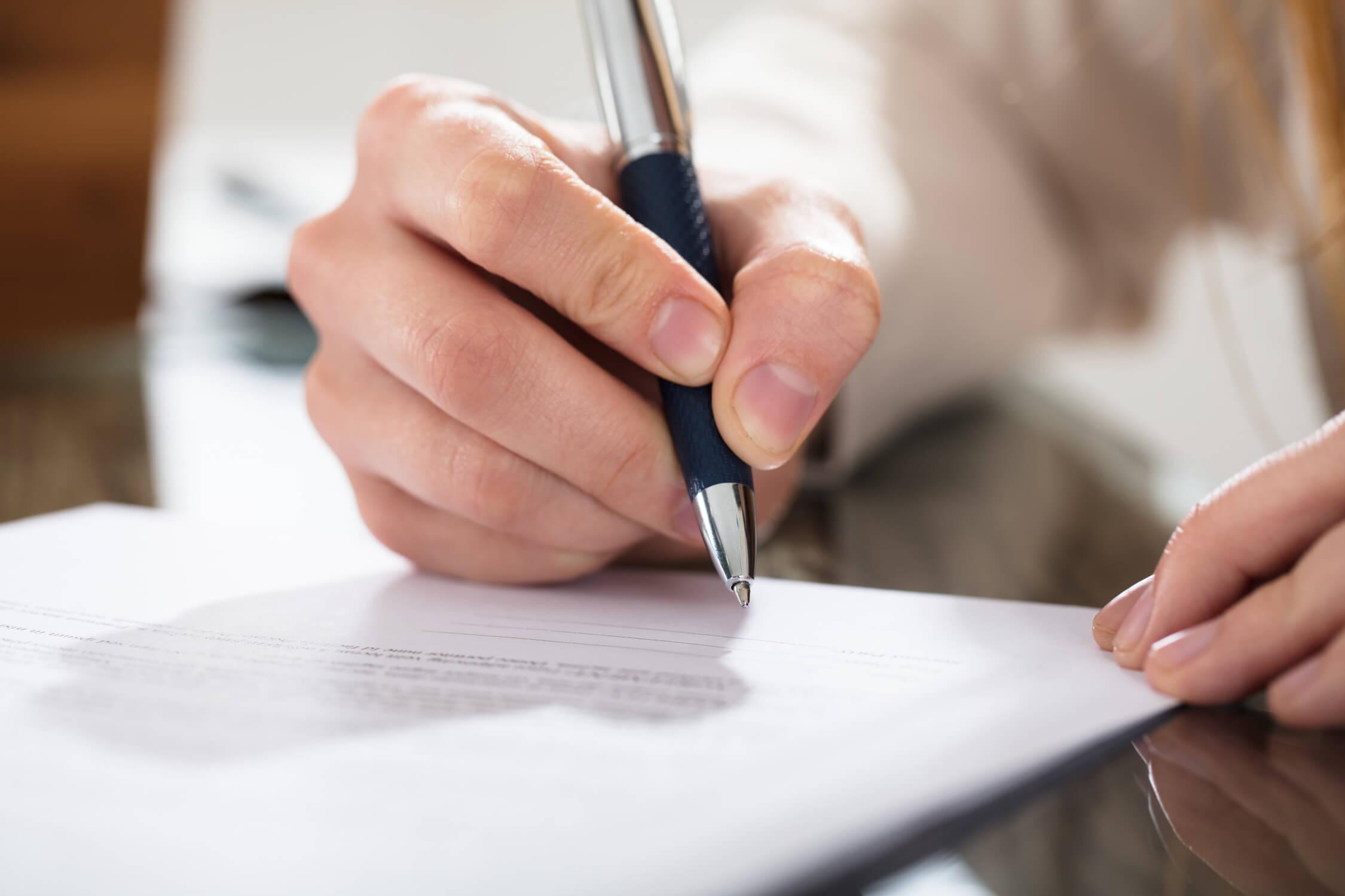 Signing Cremation Authorization