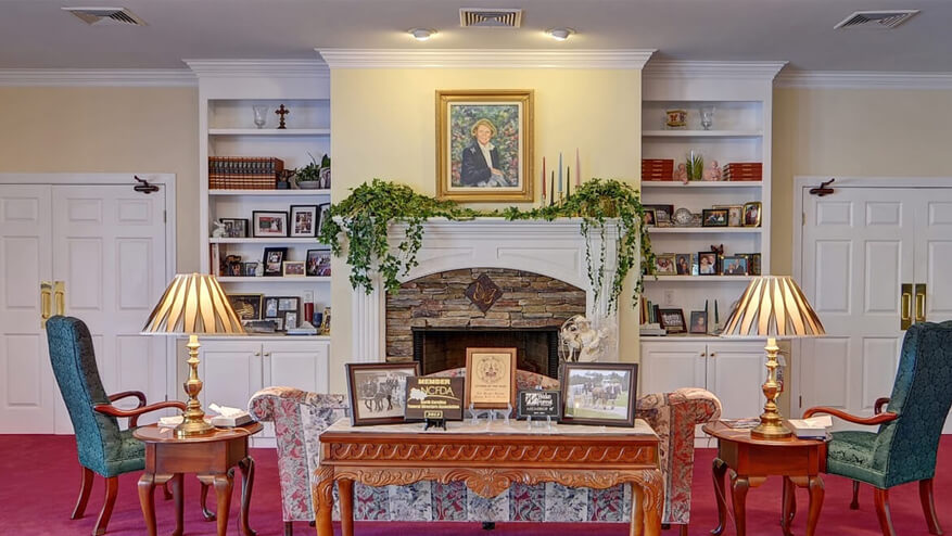 tour our funeral home in Wake Forest, NC